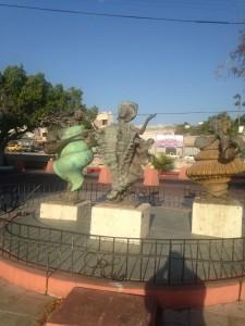La Paz Music Statue