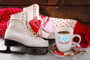 Skating and coffee